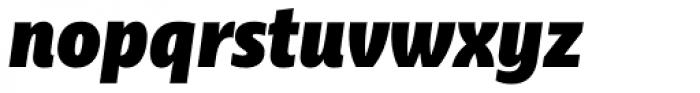 Ayita Pro Fat Italic Font LOWERCASE