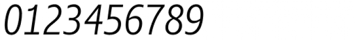 Ayita Pro Light Italic Font OTHER CHARS