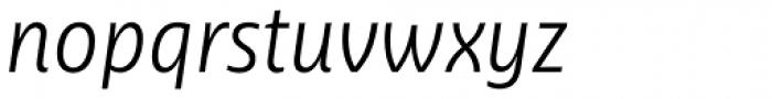 Ayita Pro Light Italic Font LOWERCASE