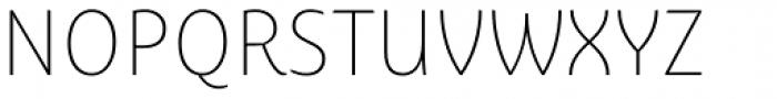 Ayita Pro Thin Font UPPERCASE