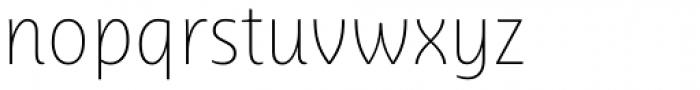 Ayita Pro Thin Font LOWERCASE