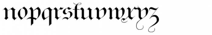 Ayres Royal Font LOWERCASE