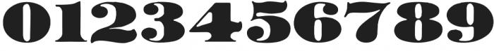 AZ Black otf (900) Font OTHER CHARS