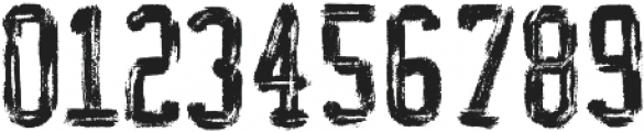 AZ College Brushed ttf (400) Font OTHER CHARS