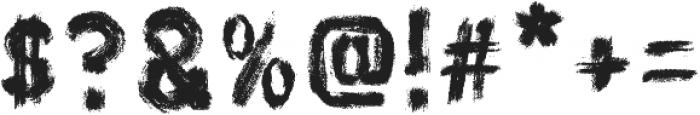 AZ Hello Brushed Regular otf (400) Font OTHER CHARS