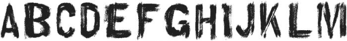 AZ Hello Brushed Regular otf (400) Font LOWERCASE