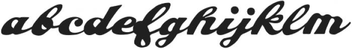 AZ Hobie Italic otf (400) Font LOWERCASE