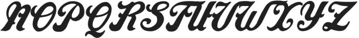AZ Indian Regular otf (400) Font UPPERCASE