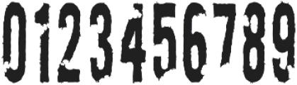 AZ New Rough Torn Regular otf (400) Font OTHER CHARS