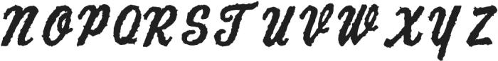 AZ Script ttf (400) Font UPPERCASE
