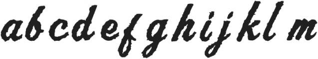 AZ Script ttf (400) Font LOWERCASE