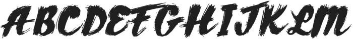 AZ Texture Regular otf (400) Font UPPERCASE