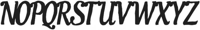 AZ Ultra Italic otf (900) Font UPPERCASE