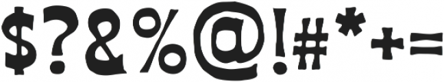 AZ Union ttf (400) Font OTHER CHARS