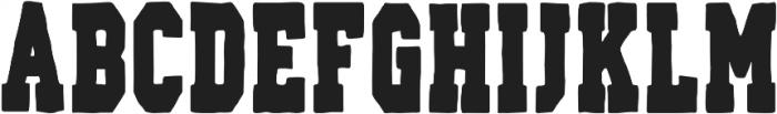 AZ Varsity Regular otf (400) Font LOWERCASE