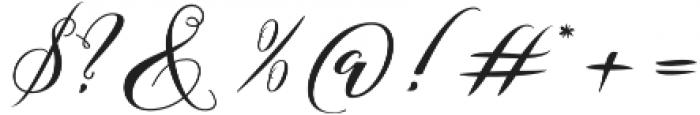 Azalea otf (400) Font OTHER CHARS