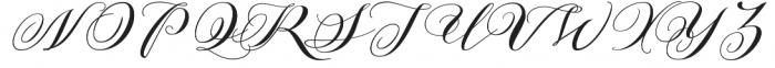 Azalea otf (400) Font UPPERCASE