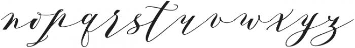 Azalea otf (400) Font LOWERCASE