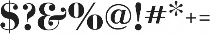 Azalea otf (700) Font OTHER CHARS