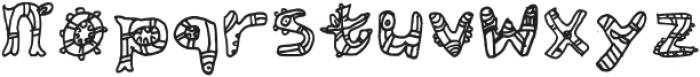 Aztec Legion Regular otf (400) Font LOWERCASE