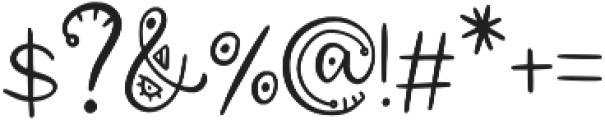 Aztec Soul v otf (400) Font OTHER CHARS