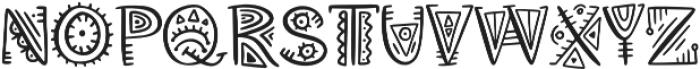 Aztec Soul v otf (400) Font UPPERCASE