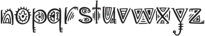 Aztec Soul v otf (400) Font LOWERCASE
