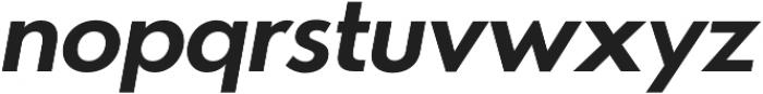 Azur BoldItalic otf (700) Font LOWERCASE