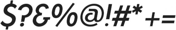 Azur MediumItalic otf (500) Font OTHER CHARS