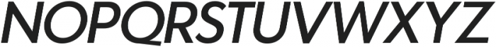 Azur MediumItalic otf (500) Font UPPERCASE