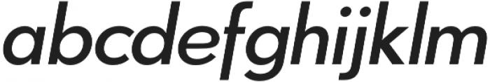 Azur MediumItalic otf (500) Font LOWERCASE