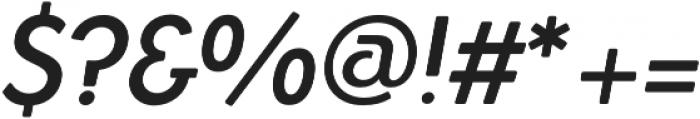 Azur MediumItalicRounded otf (500) Font OTHER CHARS