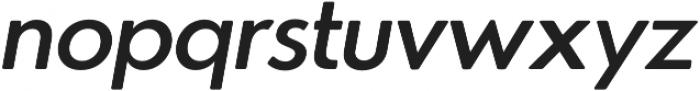 Azur MediumItalicRounded otf (500) Font LOWERCASE