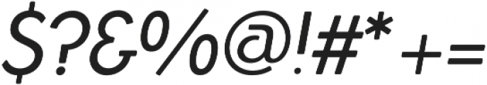Azur NormalItalicRounded otf (400) Font OTHER CHARS