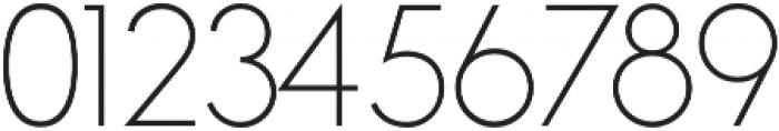 Azur Thin otf (100) Font OTHER CHARS