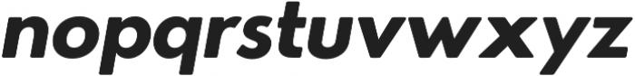 Azur XBoldItalicRounded otf (700) Font LOWERCASE