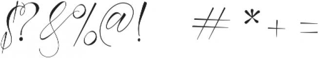 Azurra Script Regular ttf (400) Font OTHER CHARS