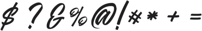 Azzardo Regular otf (400) Font OTHER CHARS