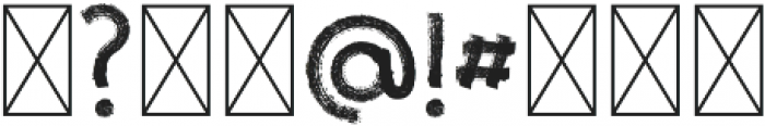Azzurro Regular otf (400) Font OTHER CHARS