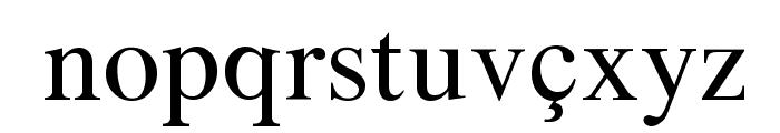 Azeri Latin Font LOWERCASE