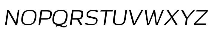 AzoftSans-Italic Font UPPERCASE