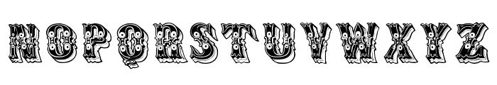 Azteak Font LOWERCASE