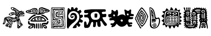 Aztecs Icons Font OTHER CHARS