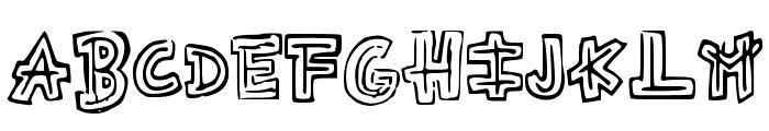 Aztecways Font UPPERCASE