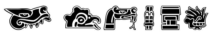 Aztekbats Font OTHER CHARS