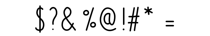 Azurite Font OTHER CHARS