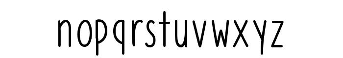 Azurite Font LOWERCASE