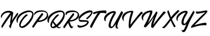 Azzardo Font UPPERCASE