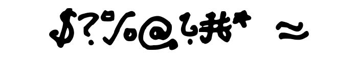AzzurSuperstar Font OTHER CHARS