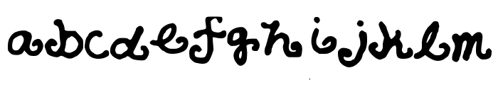 AzzurSuperstar Font LOWERCASE